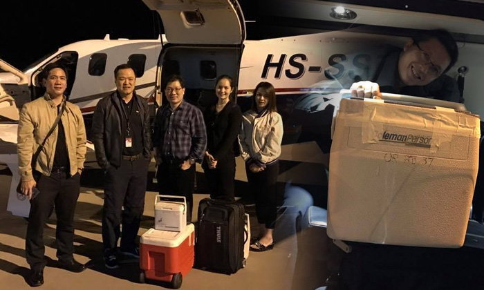 """ชาวเน็ตชม """"เสี่ยหนู อนุทิน"""" อาสาบินส่งอวัยวะบริจาคช่วยผู้ป่วย"""