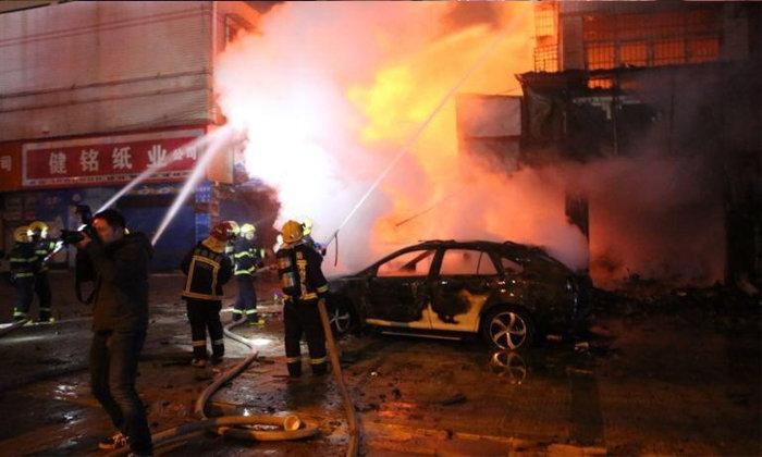 ไฟไหม้ร้านขายพลุ-ประทัดในจีน เหตุลูกค้าลองจุดหลังซื้อ เสียชีวิต 5 ราย