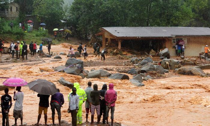 ตายพุ่ง 300 ชีวิต น้ำท่วมใหญ่-ดินโคลนถล่มเซียร์ราลีโอน