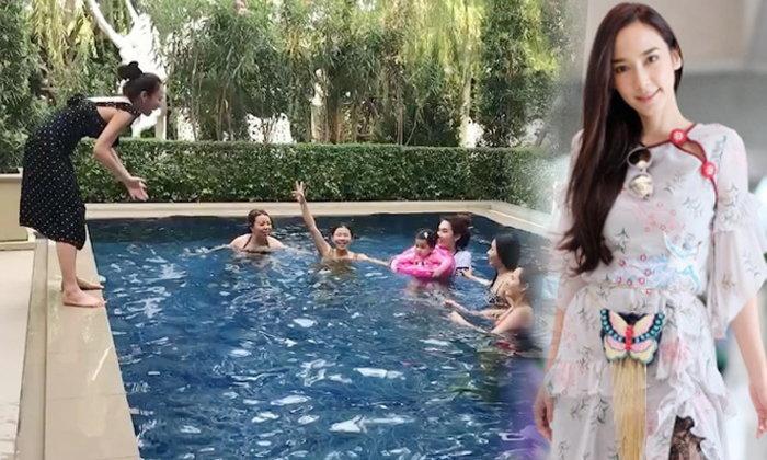 ข่าวสารบันเทิงน่าระทึกใจ อั้ม พัชราภากระโดดน้ำลงทั้งชุดสวย ๆ เพื่อมายู