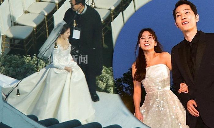 วิวาห์ชื่นมื่น ซองเฮเคียว กับ ซงจุงกิ ซุปตาร์เกาหลีรักนอกจอ