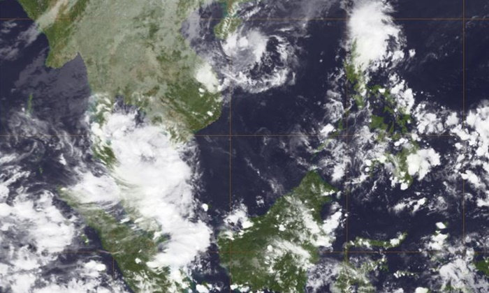"""กรมอุตุฯ ยกระดับหย่อมฝนภาคใต้เป็น """"พายุดีเปรสชั่น"""" แล้ว"""
