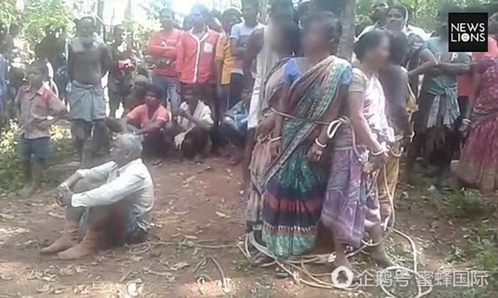 หญิงอินเดีย 5 ราย ถูกชาวบ้านมัดติดต้นไม้-รุมทุบตี เหตุสงสัยเป็นแม่มด