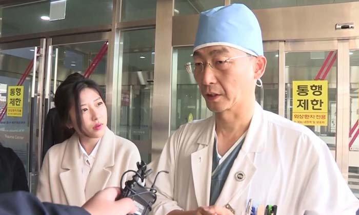 หมอเกาหลีใต้ชี้ ! ทหารเกาหลีเหนือหนีทัพโดนยิง 6 นัด อาการสาหัส