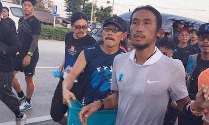 อาแอ๊ด คาราบาว ร่วมวิ่งกับ หลานตูน บริจาคเงินส่วนตัว 1.1 ล้าน