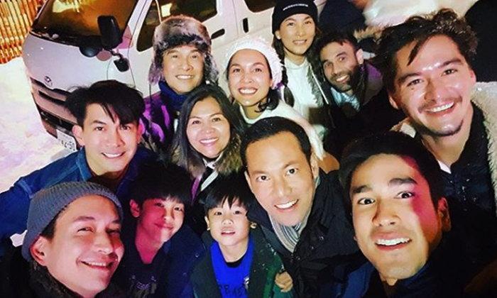 ทริปคนหล่อระดับพระเอก รวมพลเล่นสกีหิมะที่ญี่ปุ่น