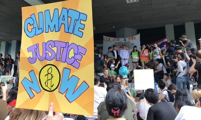 เด็กไทยร่วมปกป้องภูมิอากาศ เดินขบวน Climate Strike กระหึ่มติดเทรนด์โลก