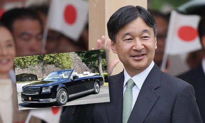 """พระจักรพรรดิญี่ปุ่น เตรียมประทับ """"โตโยต้า เซนจูรี่"""" รุ่นรักษ์โลก เข้าพิธีจักรพรรดิยาภิเษก"""