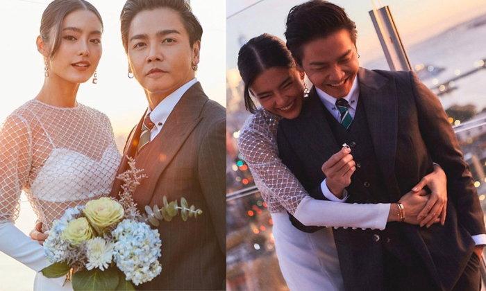 """สุดเซอร์ไพรส์ """"พีเค-โยเกิร์ต"""" จูงมือกันจดทะเบียนสมรสแล้ว!"""