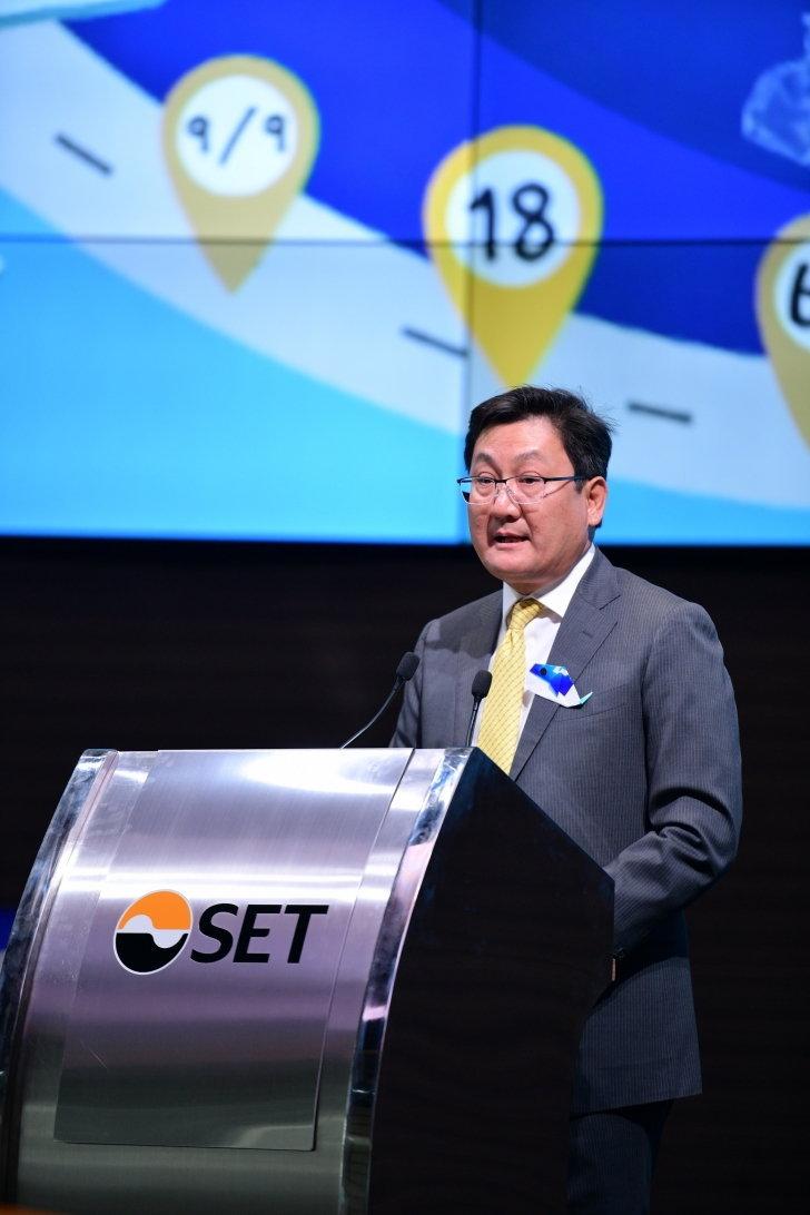 นายภากร ปีตธวัชชัย กรรมการและผู้จัดการ ตลาดหลักทรัพย์แห่งประเทศไทย