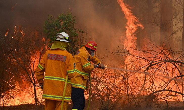 """จับอาสาสมัครดับเพลิงออสซี่ข้อหา """"ลอบวางเพลิง"""" ที่แท้คือต้นเหตุไฟป่าร้ายแรง"""