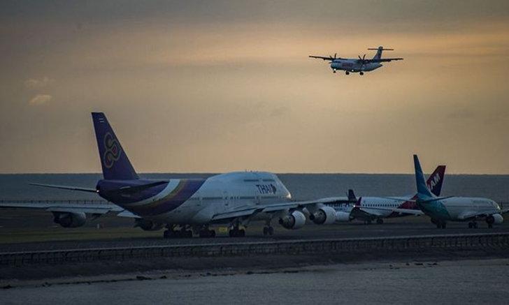 """การบินไทย ประกาศเลื่อนเที่ยวบิน """"กรุงเทพฯ-มะนิลา"""" หลบทางไต้ฝุ่นคัมมูริ"""