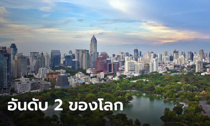 """เมืองเทพสร้าง! """"กรุงเทพฯ"""" รั้งอันดับ 2 เมืองจุดหมายของนักท่องเที่ยว เป็นรองเพียง """"ฮ่องกง"""""""
