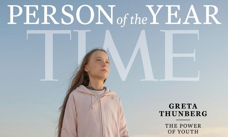 """นิตยสารไทม์ ยกย่อง """"เกรตา ธันเบิร์ก"""" เป็นบุคคลแห่งปี 2019"""