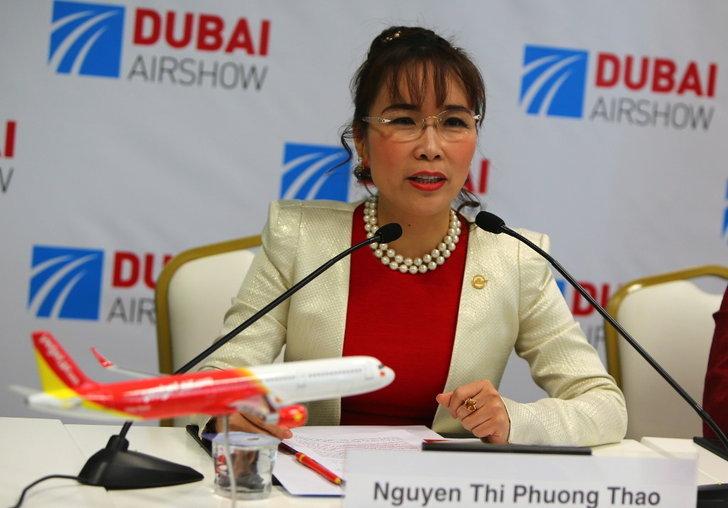 Nguyen Thi Phuong Thao เจ้าของ VietJet Air