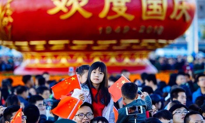 วันเดียวแสนล้าน! ชาวจีนฉลองหยุดยาววันชาติ เที่ยวในประเทศ 112 ล้านคน