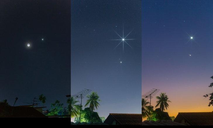 """ห้ามพลาด """"ดาวศุกร์สว่างที่สุด"""" ครั้งสุดท้ายในรอบปี เช้ามืดพรุ่งนี้ (8 ก.ค.)"""