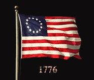ธงสหรัฐอเมริกาสมัยแรกเริ่ม