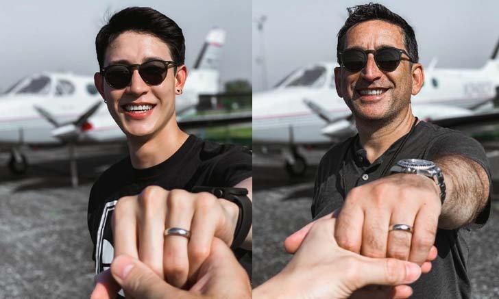 """เพื่อนๆ แห่ยินดี """"กัสเบล"""" โชว์แหวนนิ้วนางซ้าย ถูกแฟนหนุ่มขอแต่งงาน"""