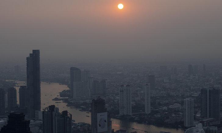เตือน กทม.-ปริมณฑล ค่า PM 2.5 พุ่ง ลดเวลาทำกิจกรรมกลางแจ้ง