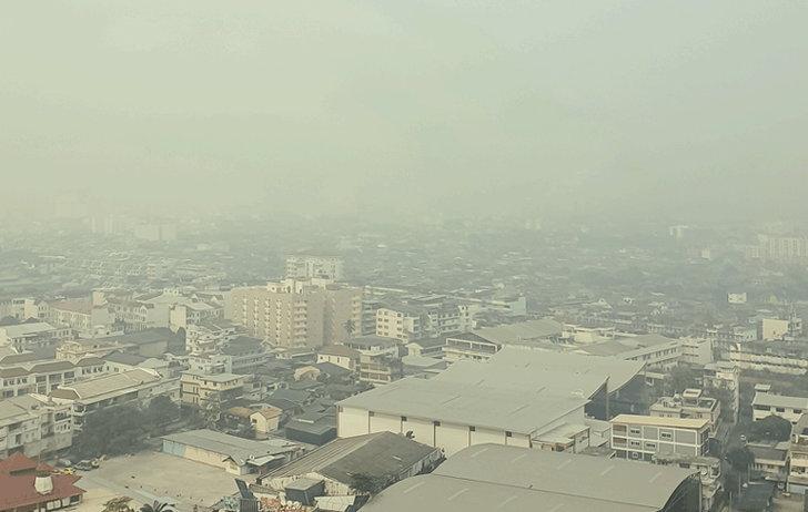 ฝุ่นพิษ PM 2.5 กทม.เกินมาตรฐาน 69 จุด หนองแขมหนักสุด