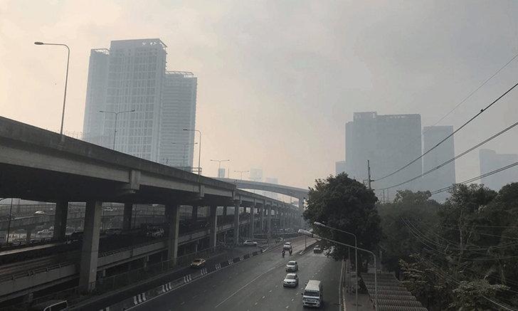 กทม.ค่าฝุ่น PM 2.5 เกินมาตรฐาน 68 พื้นที่ หนองแขม-จอมทอง ครองแชมป์คู่