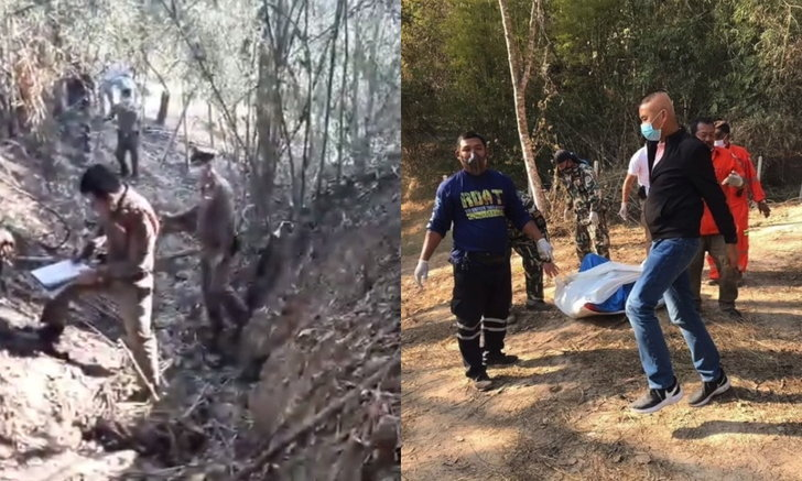 สุดสยอง คุณตาวัย 72 ปี ถูกไม้เสียบรูทวาร-ไฟคลอกร่างดับกลางป่า