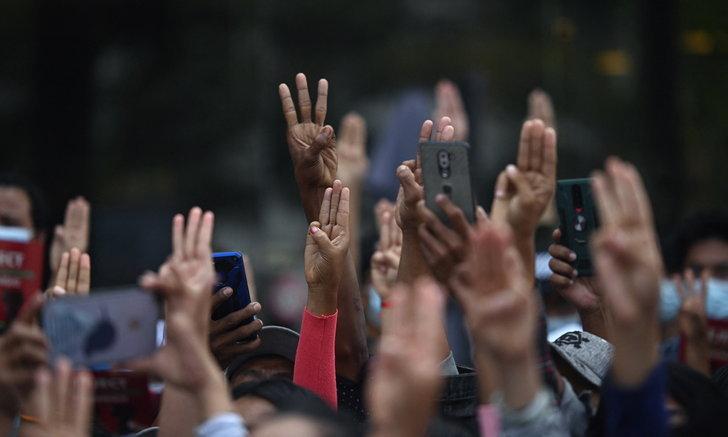 """""""ทูตเมียนมา"""" กล่าวสุนทรพจน์กลางที่ประชุมยูเอ็น เรียกร้องนานาชาติต่อต้านรัฐประหาร"""