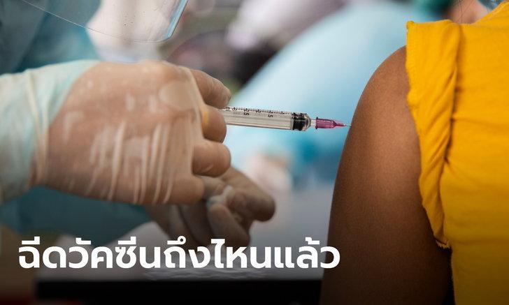 อัปเดต ความคืบหน้าการฉีดวัคซีนโควิด ในไทยไปถึงไหนแล้ว อยู่จุดใดเมื่อเทียบกับโลก