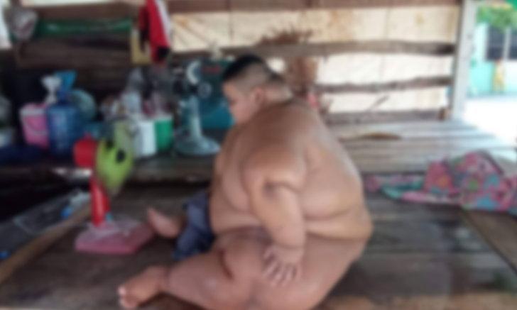 ญาติวอนช่วยเด็กชายวัย 13 ปี หนัก 200 กิโลกรัม ซ้ำเป็นออทิสติก