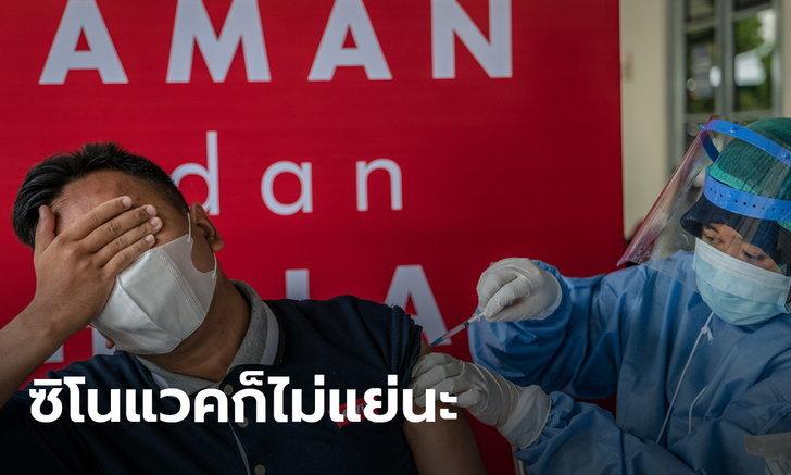 อินโดนีเซียพบวัคซีนซิโนแวคประสิทธิผลสูง กันตายจากโควิด 100% ลดป่วยหนัก 96%