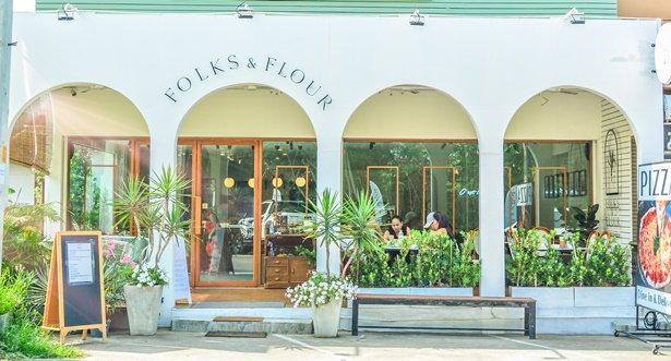 ร้าน Folks & Flour Homemade French Bakery พัทยา