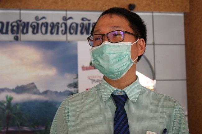 นายแพทย์รัฐภูมิ ชามพูนท รองนายแพทย์สาธารณสุขจังหวัดพิษณุโลก
