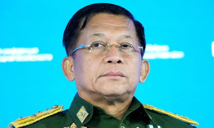 กองทัพเมียนมาตั้งรัฐบาลรักษาการ พล.อ.มิน อ่อง หล่าย นั่งเก้าอี้นายกฯ
