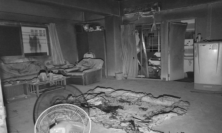 สยอง หนุ่มอินเดียใช้น้ำมันราดจุดไฟเผาตัวเอง ดับคาห้องเช่าย่านแพรกษา