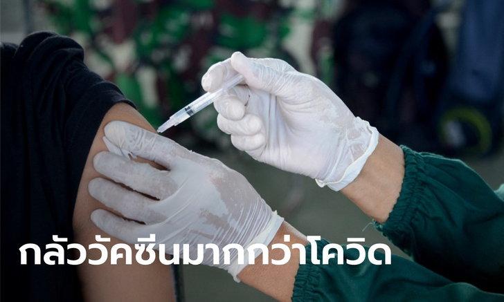 โพลมะกันชี้ คนไม่ยอมฉีดวัคซีน เพราะเชื่อว่าวัคซีนเสี่ยงกว่าติดเชื้อโควิด