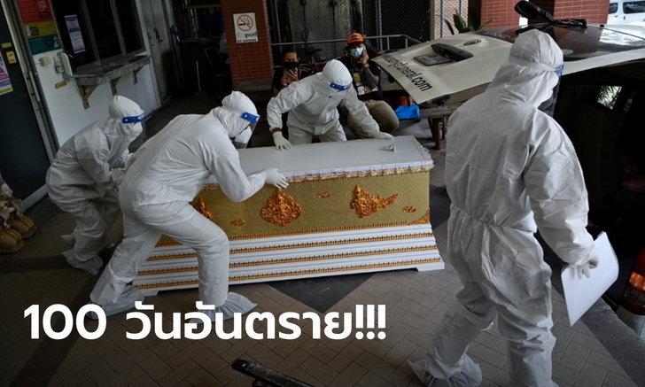 หมอมนูญ เตือน! อีก 100 วัน ตัวเลขติดโควิดจริงในไทยอาจถึง 35 ล้านคน ตายเพิ่มอีก 3 หมื่น