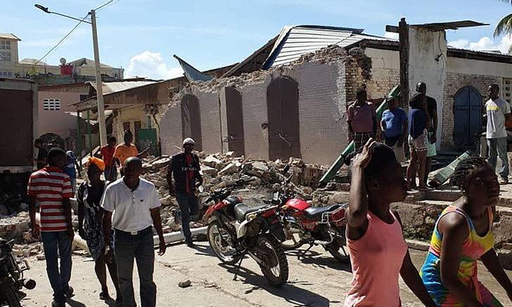 """""""เฮติ"""" ช็อกซ้ำ! แผ่นดินไหวขนาด 7.2 ยอดดับทะลุ 300 ราย"""