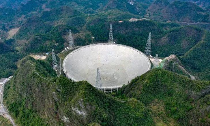 """จีนเปิดใช้ """"ดวงตาจักรวาล"""" อย่างเป็นทางการ หลังทดลองใช้นาน 3 ปี"""