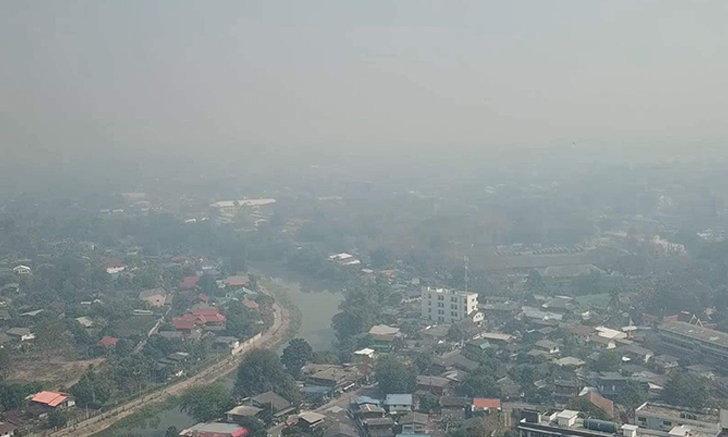 กรุงเทพฯ ค่าฝุ่น PM 2.5 เกินมาตรฐาน 9 เขต แนะสวมหน้ากากอนามัย