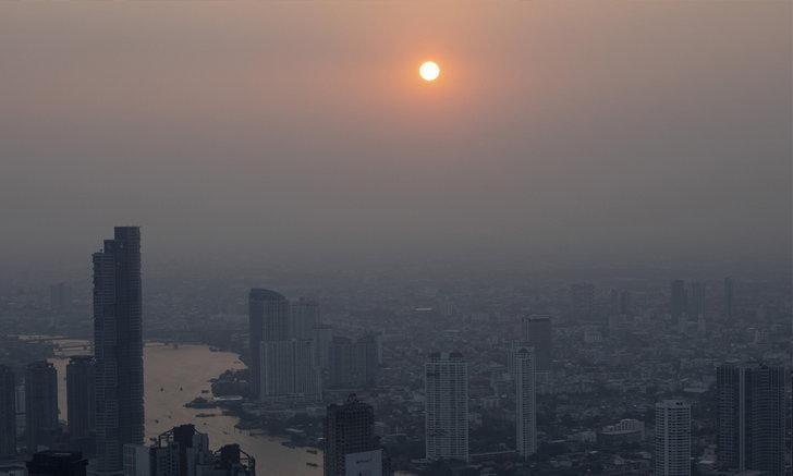 ฝุ่น PM 2.5 คัมแบ็กกรุงเทพฯ เริ่มมีผลกระทบต่อสุขภาพ 50 พื้นที่