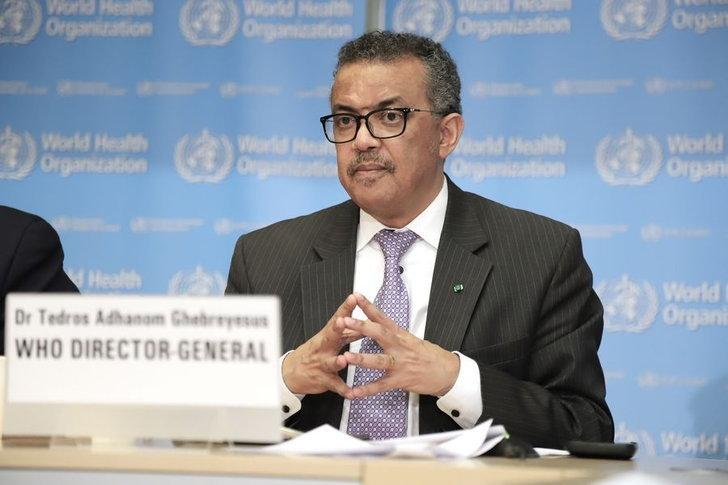 ทีโดรส อัดฮานอม กีบรีเยซุส (Tedros Adhanom Ghebreyesus) ผู้อำนวยการใหญ่องค์การอนามัยโลก (WHO)