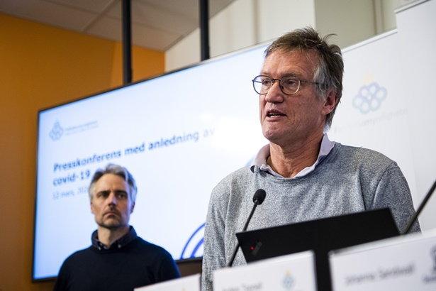 นายแอนเดอร์ส เท็กเนลล์ ตัวแทนจากกระทรวงสาธารณสุขสวีเดน