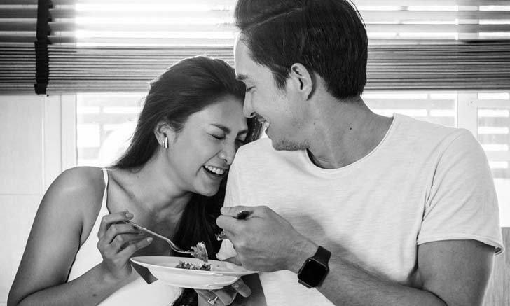 """""""หลุยส์ สก๊อต"""" แต่งงานแล้วยิ่งหวาน เผยข้อความสุดซึ้งถึง """"นุ่น รมิดา"""""""