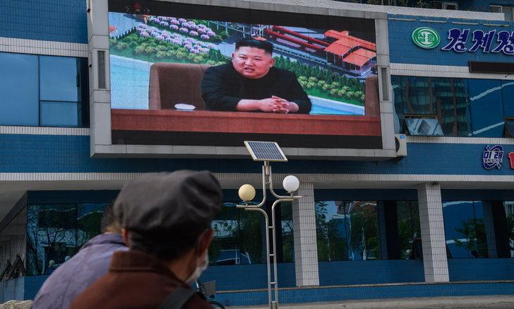"""เกาหลีเหนือ-เกาหลีใต้ ยิงใส่กันที่เขตปลอดทหาร หลัง """"คิมจองอึน"""" เพิ่งปรากฏตัว"""
