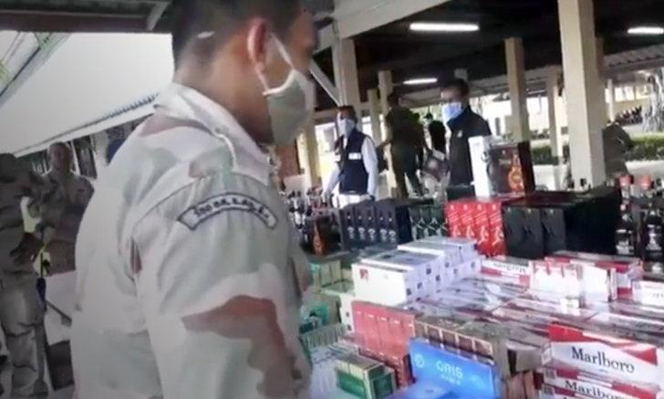 บุกจับร้านเหล้าเถื่อน ลอบขายเหล้าวันวิสาขบูชา เจอของหนีภาษีเพียบ มูลค่ากว่า 5 ล้าน