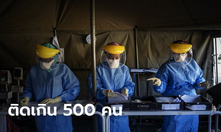 แอฟริกาใต้อ่วม บุคลากรแพทย์ติดโควิด-19 มากกว่า 500 ราย เสียชีวิตแล้ว 2 ราย