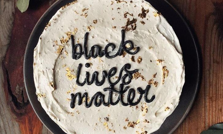 """นักอบขนมทั่วสหรัฐฯ ประท้วง Black Lives Matter ด้วย """"พลังแห่งอาหาร"""""""