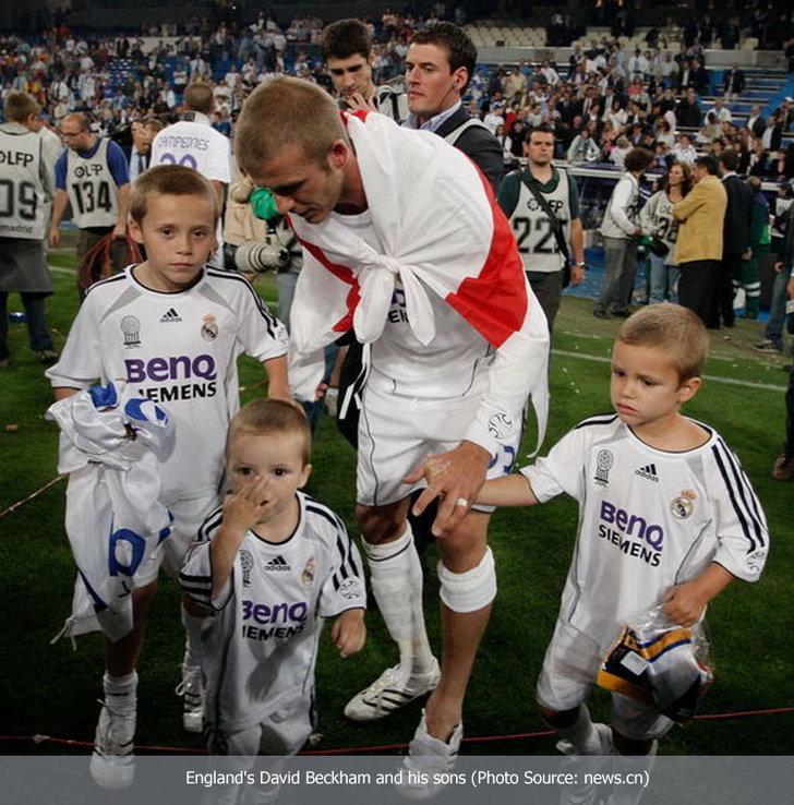 พ่อ-ลูก นักเตะฟุตบอลโลก น่ารักๆ