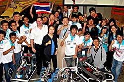 เด็กไทยเจ๋ง! กวาดแชมป์หุ่นกู้ภัยโลกสมัยที่ 5 คว่ำญี่ปุ่น